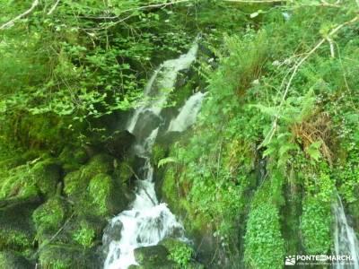 Ruta Cares-Picos de Europa; floracion cerezos valle del jerte senderos de cordoba garganta del infie